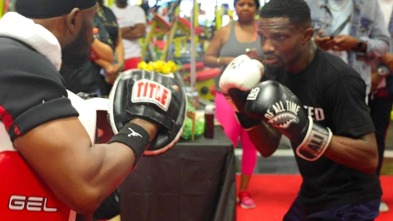 Boxer Titus Williams talks about what it'slike getting