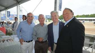 Jay Schneiderman, Southampton town Supervisor with formmer New