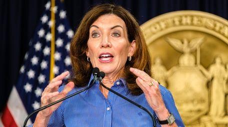 Gov. Kathy Hochul said Monday that New York