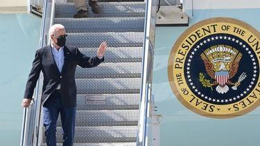 President Joe Biden spoke in Queens on Tuesday