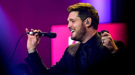 Crooner Michael Bublé's long-awaited show at Nassau Coliseum