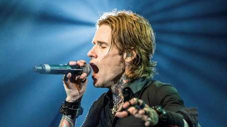Josh Todd and the rest of Buckcherry come