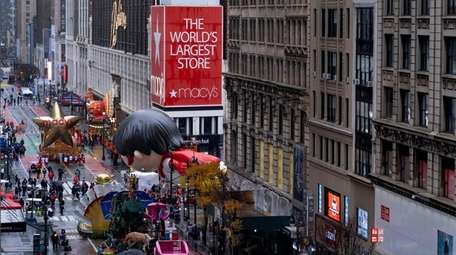 Floats in the 2020 Macy's Thanksgiving Day Parade,