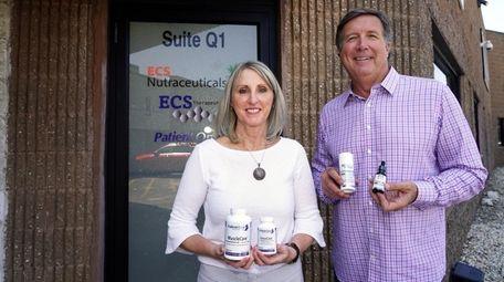 Kathy and Gerard McIntee, top executives at two