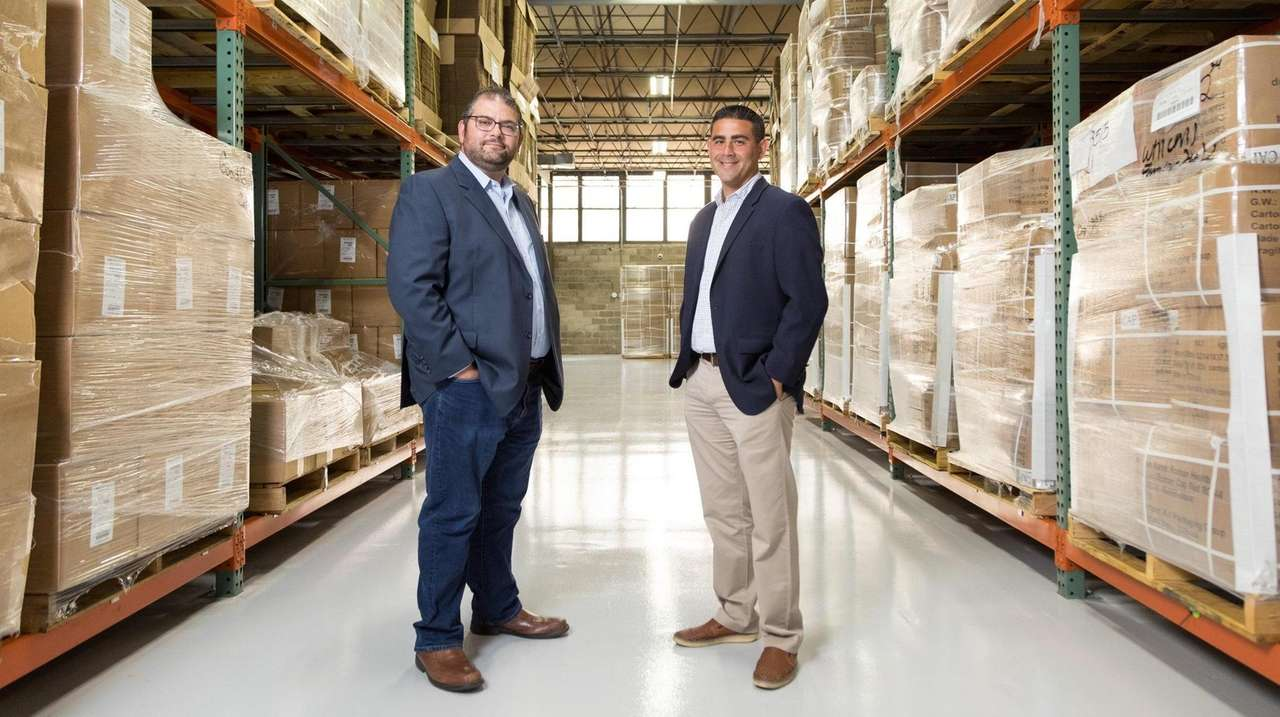 NutraScience Labs' Executive Vice President Vincent Tricarico, right,