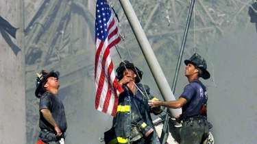 FDNY firefighters George Johnson, Dan McWilliams and Bill