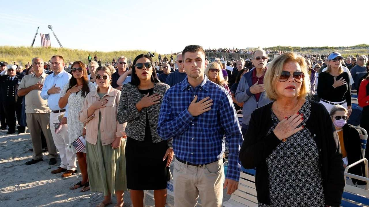 Across Long Island Saturday, remembrances marked the 20th