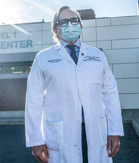 Dr. Bruce Polsky at NYU Winthrop Hospital talks