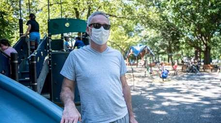 Max Resnik, of Old Westbury. at Eisenhower Park,