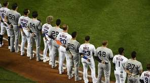 New York Mets and New York Yankees players