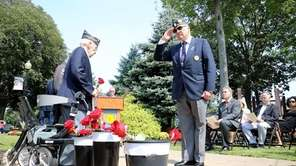 The Town of Huntington held a 9/11 ceremony