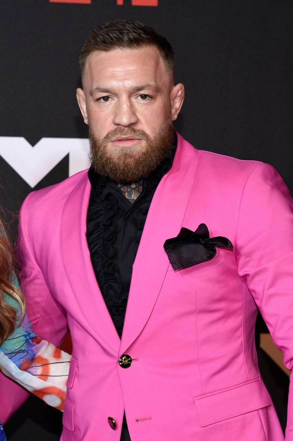 Conor McGregor arrives at the MTV Video Music