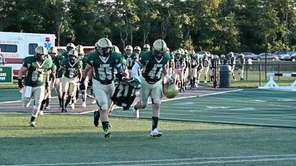 High school football returned in full this past