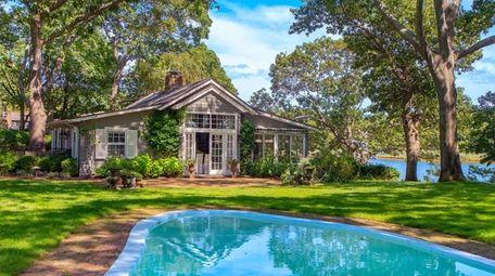 John Steinbeck used this bayfront Sag Harbor cottage