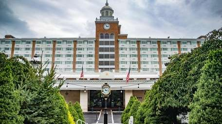 The 269-room Garden City Hotel had its first