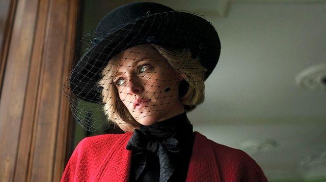 """Kristen Stewart plays Princess Diana in """"Spencer,"""" which"""
