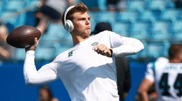 New York Jets rookie quarterback Zach Wilson talks