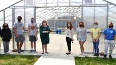 Long Beach Middle School recently held a ribbon-cutting