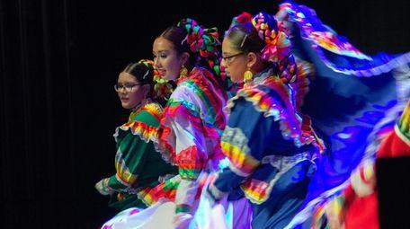 The Hispanic Heritage Month celebration, featuring dance, music