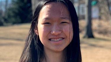 Amber Luo, a senior at Ward Melville High