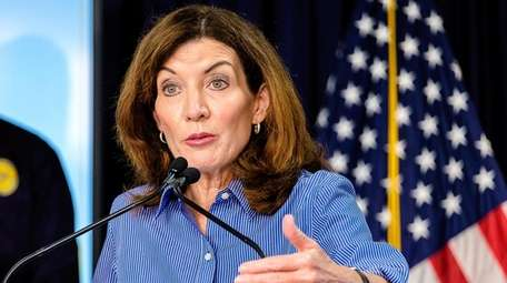 Gov. Kathy Hochul's office said Thursday that as