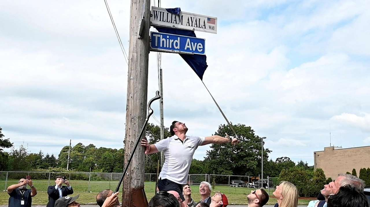 Family and friends gathered in Brentwood for the