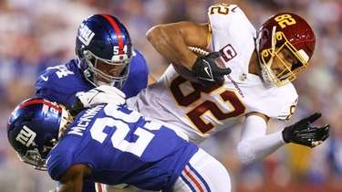In losing to Washington, the Giants allowed Taylor