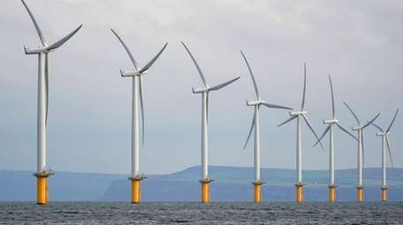 Wind power development off Long Island is being