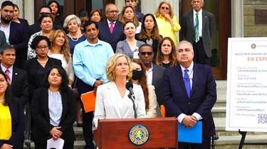 In Nassau County Hispanics are the fastest growing