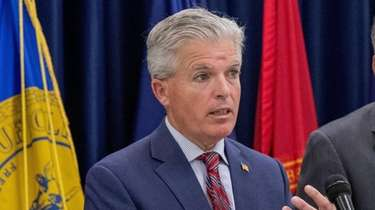 Suffolk County Executive Steve Bellone, who on Friday,