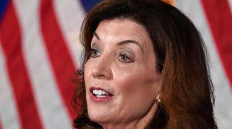Gov. Kathy Hochul has forced out a number