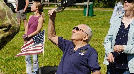 Korean War Navy veteran Tony Toscano, of East