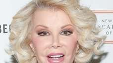 Joan Rivers attends the 2013 Tribeca Ball at