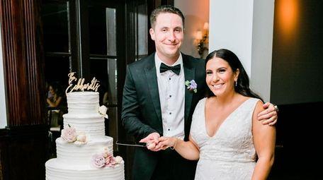 Lara Hajjar, 30, a teacher, and Chris Eckhardt,