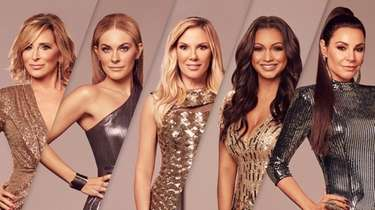 """The season 13 cast of """"Real Housewives of"""