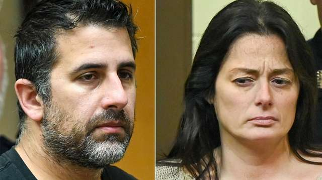 Michael Valva. left, and Angela Pollina, at their