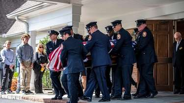 Funeral services for Nassau County police officer Charles