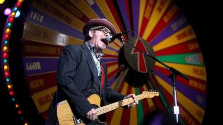 Elvis Costello played  The Paramount on its