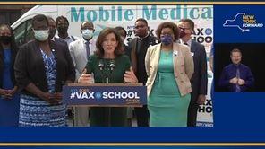 On Tuesday, Gov.Kathy Hochul announced120 new #VaxtoSchoolpop-upsites across