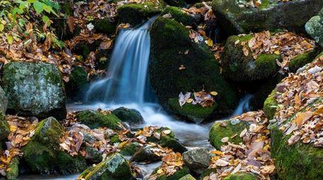 Wigwam Falls at Yankee Horse Ridge in Virginia.
