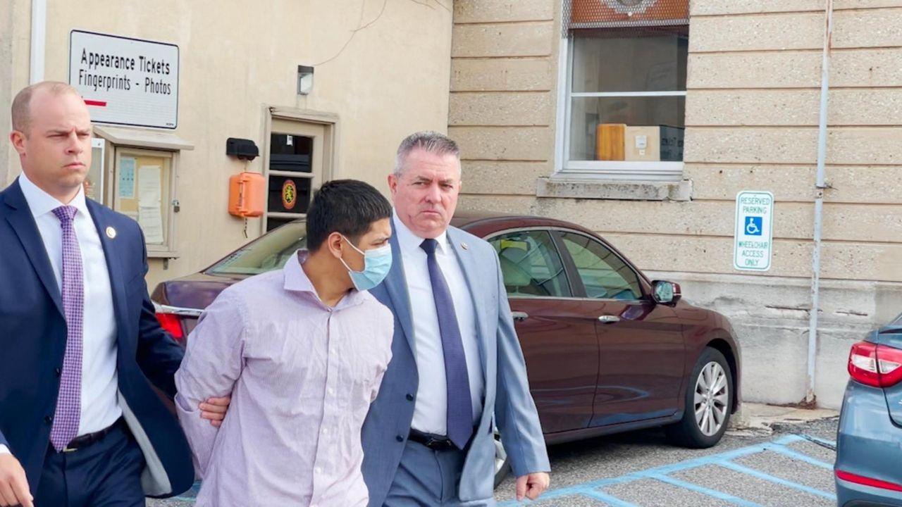 Nassau County police said Jeustin David Maldonado was