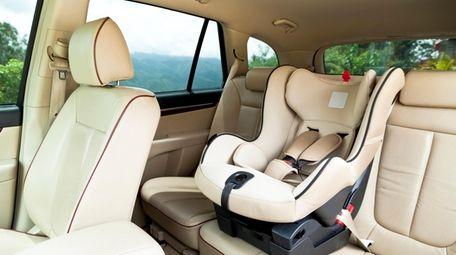It's Child Passenger Safety Week on Long Island.