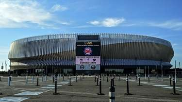 Nassau Coliseum, where the Islanders played, remains closed.