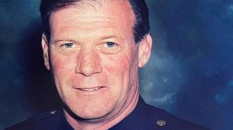 Peter Brown, a Nassau police officer who earned