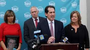 State Sen. Todd Kaminsky led a news conference