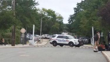 Baldwin High School evacuated after bomb threat. Nassau
