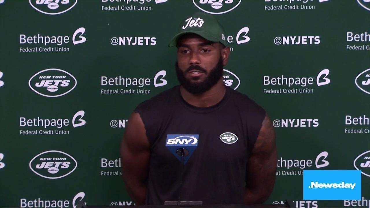 Jets rookie receiver Elijah Moore spoke on Wednesday