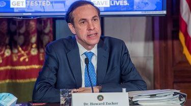 Dr. Howard Zucker, New York health commissioner, has