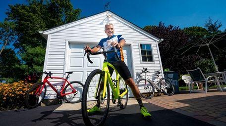 Glenn Olszewski, who rotates his daily rides among