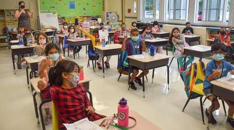 In Hicksville, East Street Elementary School students gave